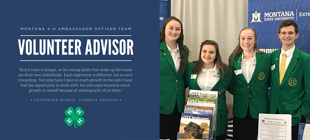 Seeking volunteer leader to fill Officer Team Advisor position.