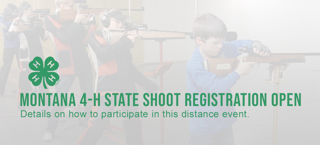 Learn more about how to participate in the distance Montana 4-H state shoot.