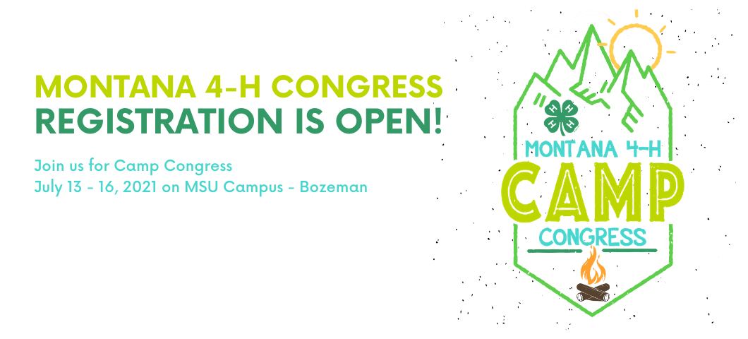 Registration is Open! July 13-16, 2021 on campus at MSU Bozeman