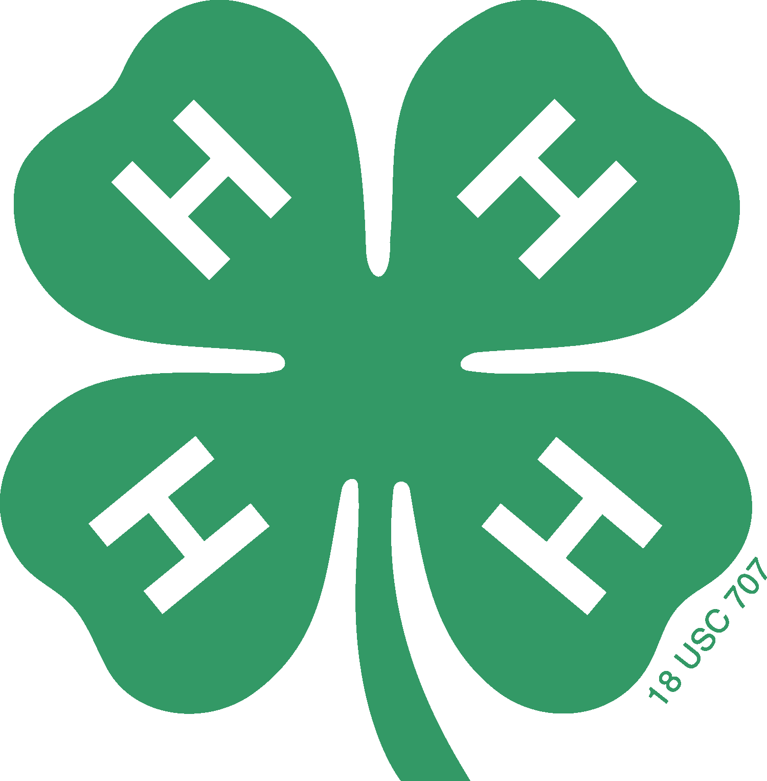 Image result for 4-H clover png