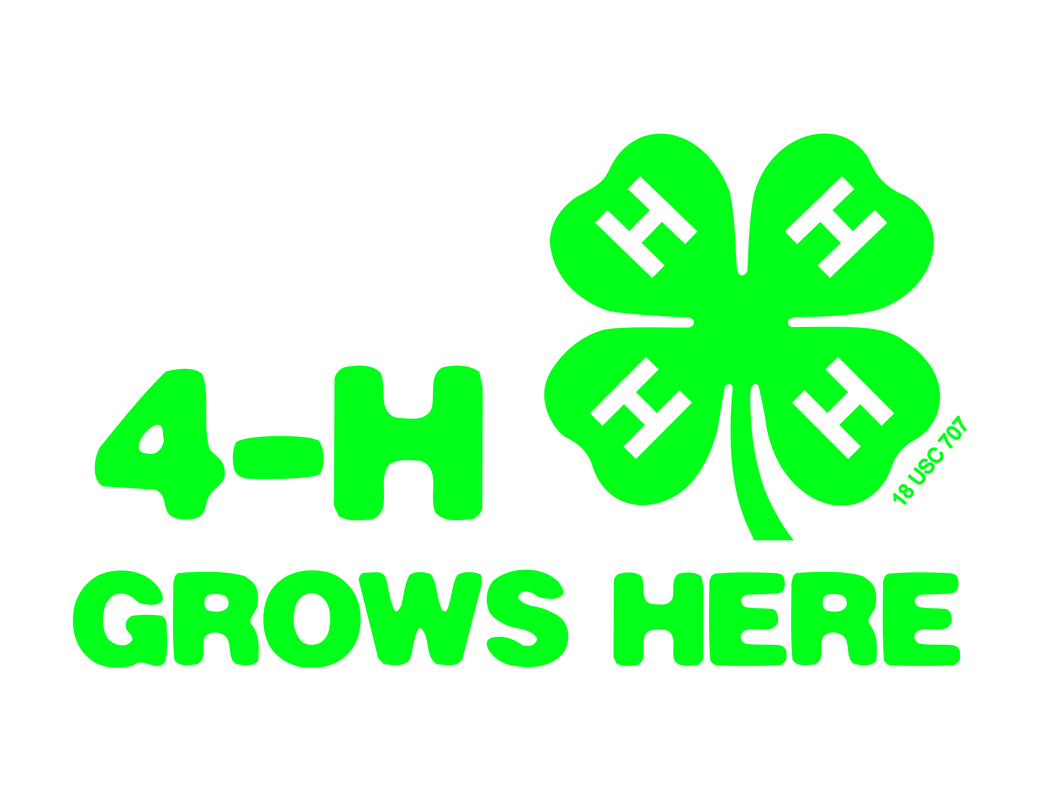 image relating to Printable 4 H Clover identify 4-H Manufacturer Supplies - Montana 4H - Montana Region School