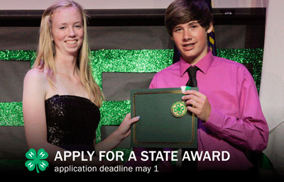 receiving a state award